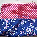 Trousse marie paul so butterfly in polka red world - mk & co design