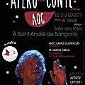Encore une belle soirée spectacle proposée par le secours populaire de saint-andré, à saint-andré!