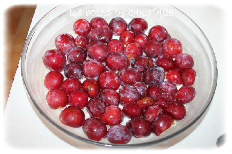 Clafoutis prunes 3