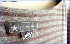 Tee-shirt Loose petit noeud en cuir4-002