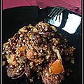 Lentilles au chorizo et tomates