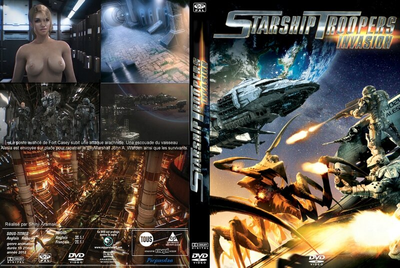 Jaquette Starship Troopers : Invasion (2012)