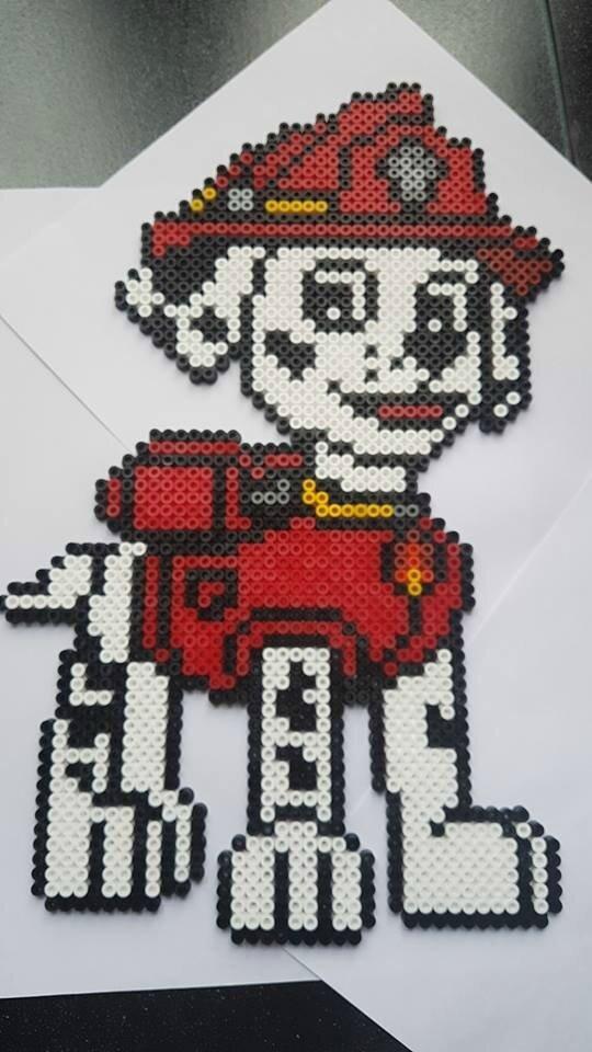Pixel Art Pat Patrouille Stella
