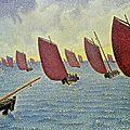 Pointillisme 1891_Brise,Concarneau_Signac