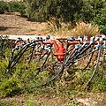 Grèce - crète (13/23). développement agricole et irrigation.