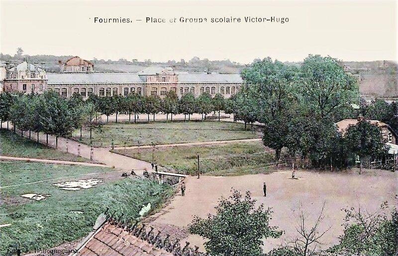 FOURMIES-Place Victor Hugo