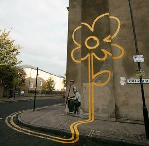 banksy-yellow-flower1