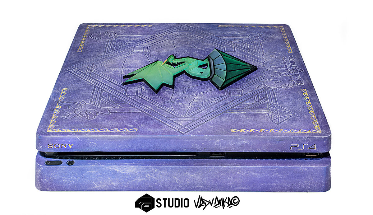 Custom Edition Spyro Reignited Trilogy | PS4