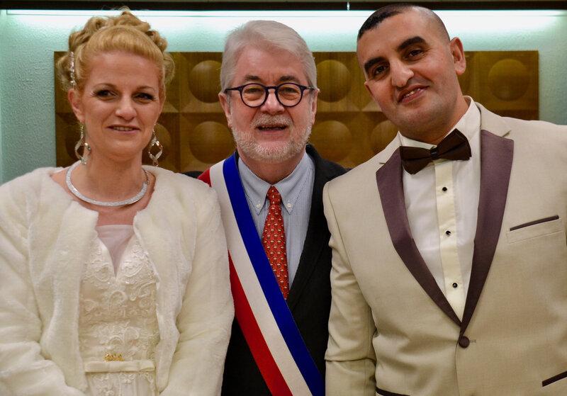 MARIAGE 2019 YOUCEF HAMADI AURÉLIE MASSON
