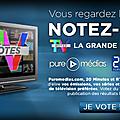 Voter pour vos séries, émissions & présentateurs préférés