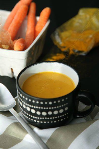 veloute de carotte a l indienne