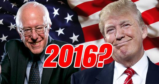 Primaires Américaines : Trump – Sanders, même combat!