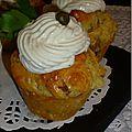 Cupcake au thon et câpres