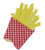 144 frites avec donc broderie machine