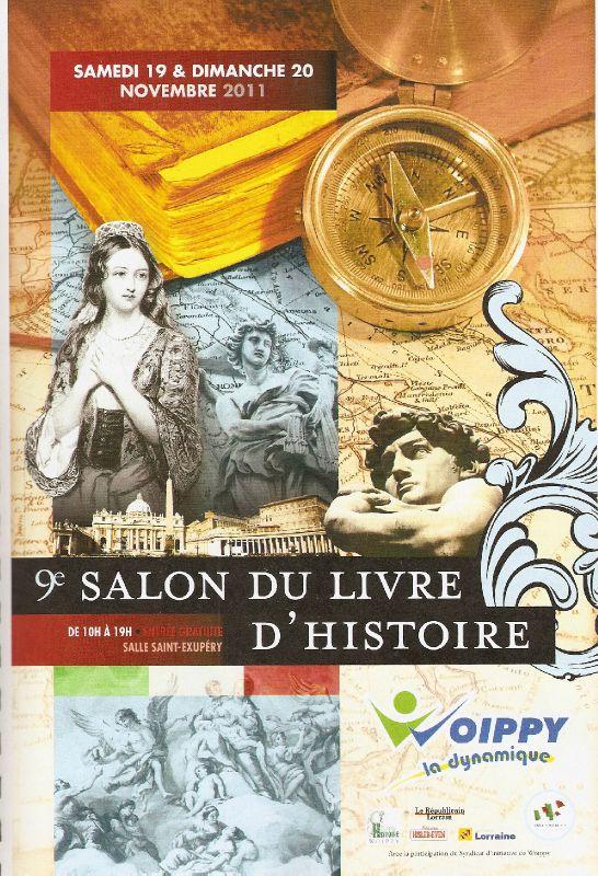 L'affiche officielle du Salon du Livre d'Histoire 2011