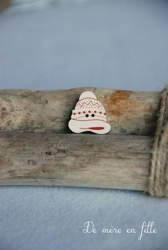 petit bonnet ivoire