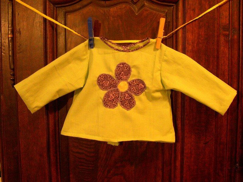 Brassière à fleur modèle: Intemporels pour bébé