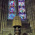7_vitraux_vierge_cathédrale LEON