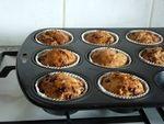 Muffins aux noix et pépites de chocolat (13)