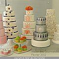 Gateaux salon mariage oriental 2012