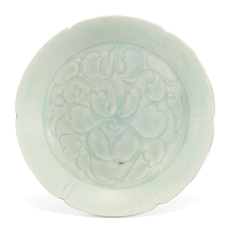 A Qingbai 'floral' dish, Song dynasty (960-1279)