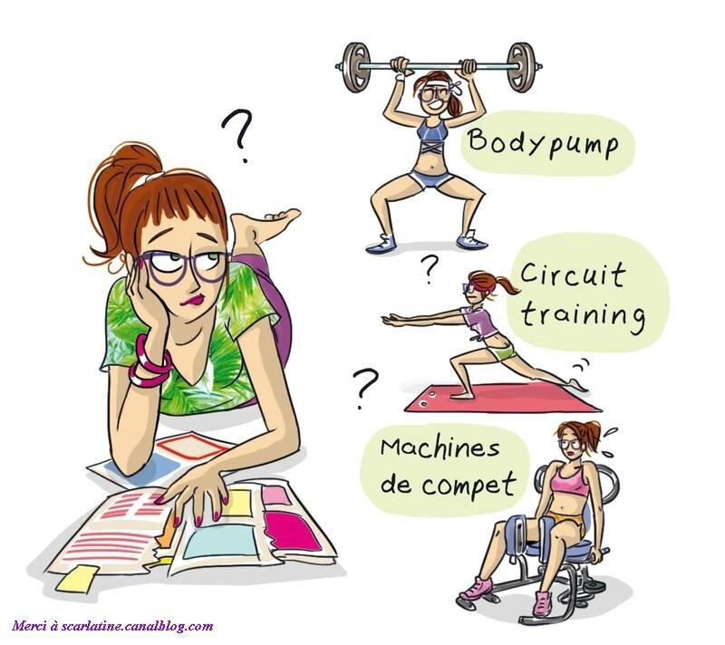 Gym tous les messages sur gym fit 39 dance chalais - Dessin humoristique musculation ...