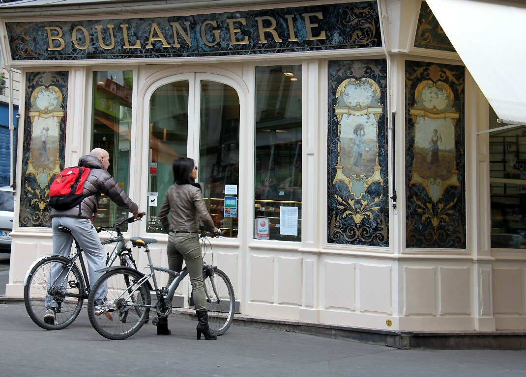 Vélos, boulangerie_5969