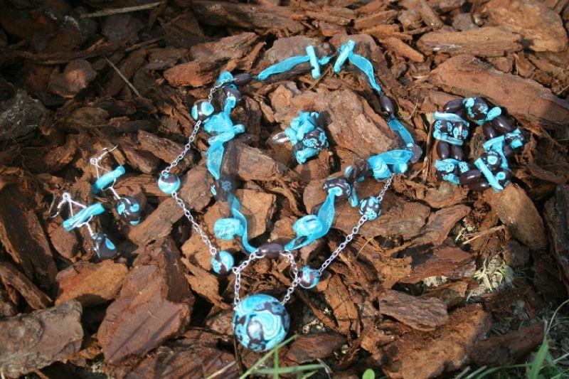parure (11-3) turquoise