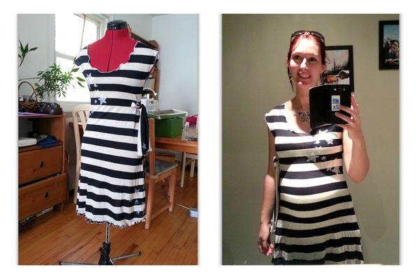 robe à rayures