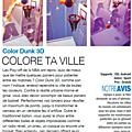 Test de color dunk 3d - jeu video giga france