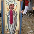 sardine moustachue et cravatée