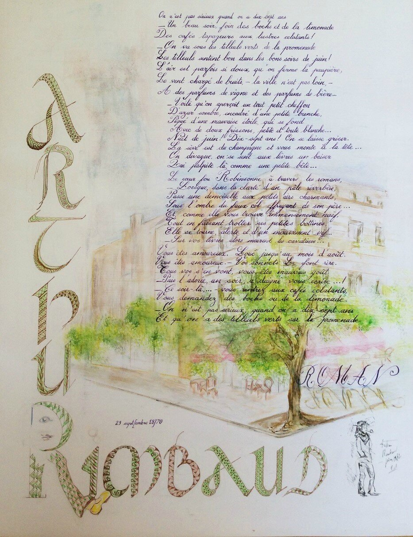 Calligraphies De Janie Chantal Et Sylvie Plumesetcalames