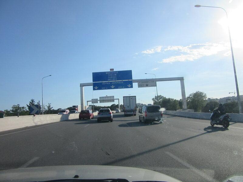En route pour la Croisette!!!