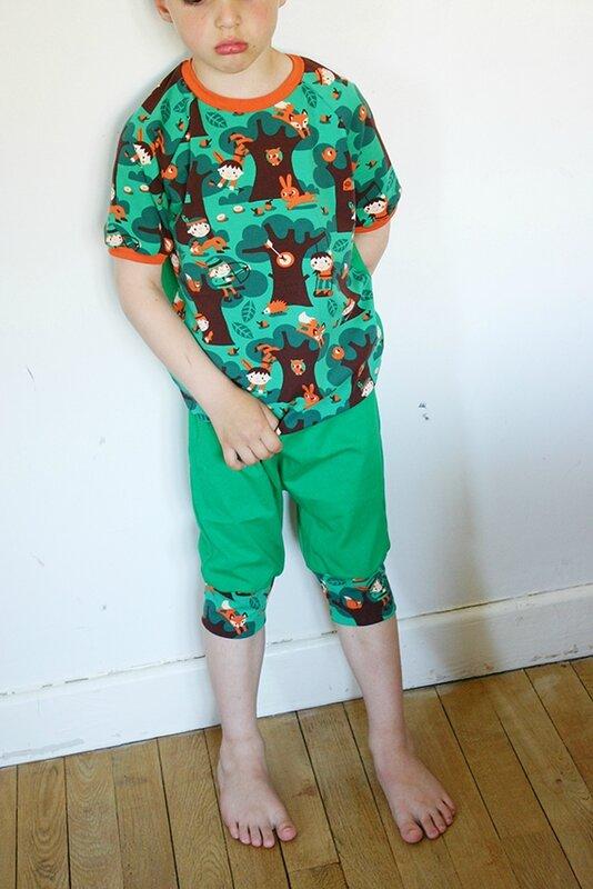 pyjama robin des bois1