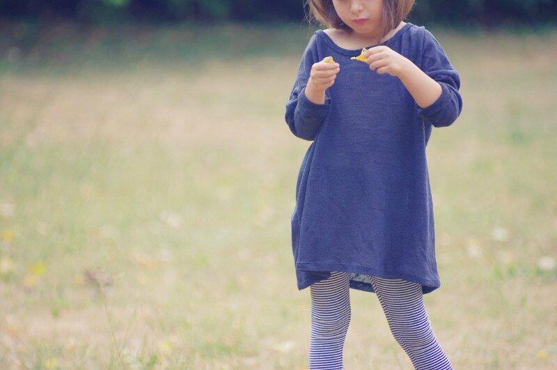 TROP-TOP_Enf_Manches longues_Version A_Pull oversize avec leggings