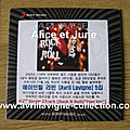 CD promotionnel Rock N Roll-version coréenne (2013)
