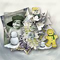Kit white season de scrap angie et tifscrap