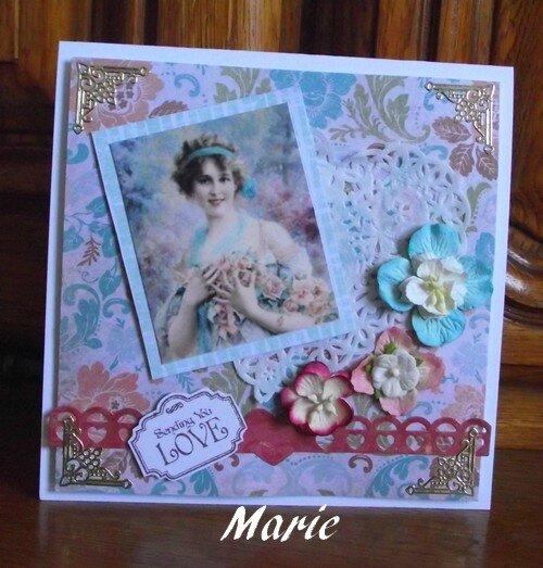carte pour Marie Laurence
