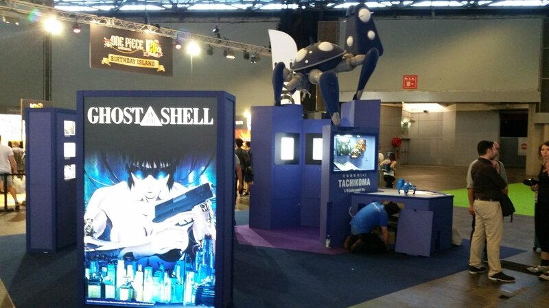 Mini-expo Ghost in the Shell