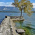Lac du bourget, rive gauche