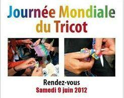 JOURNEE MONDIALE DU TRICOT - 9 JUIN 2012