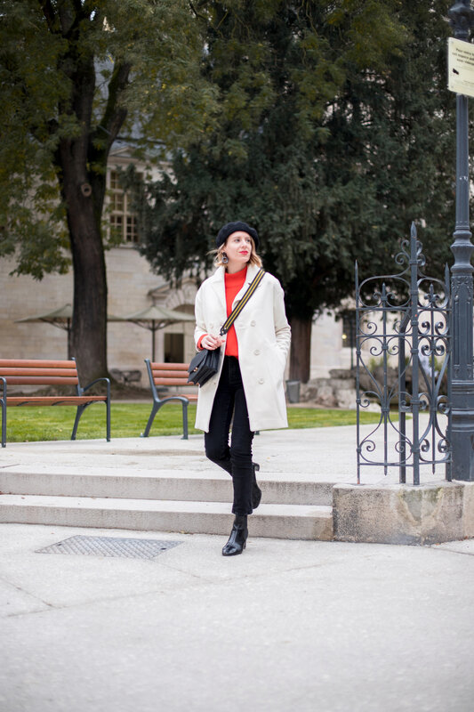 White coat and red knit -styliz (5)