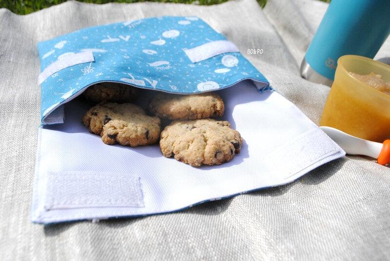 zéro déchet goûter cookies fait maison cuisine enfant maman boucle d'or