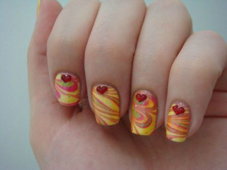 water marble multicolor
