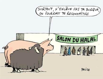 humour islam halal burqua hollande ps