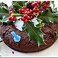 Gâteau fondant au chocolat et aux marrons