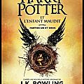 Harry potter et l'enfant maudit - joanne rowling et john tiffany et jack thorne - editions gallimard
