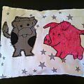 Livre tissu pour bébé