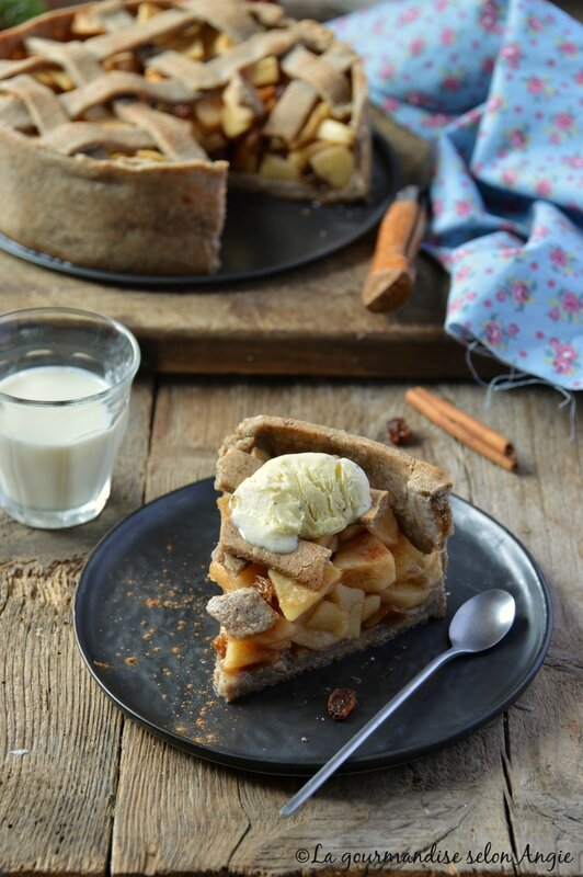 vegan apple pie 4