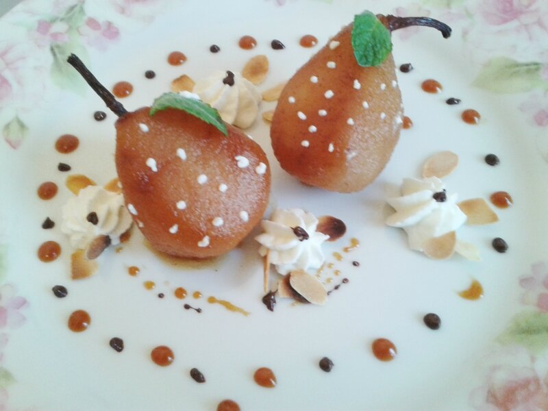 POIRE AU FOUR du chef Custos